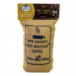 Кофе «Jamaica Blue Mountain Blend» средняя обжарка (Medium Roast) 1кг.